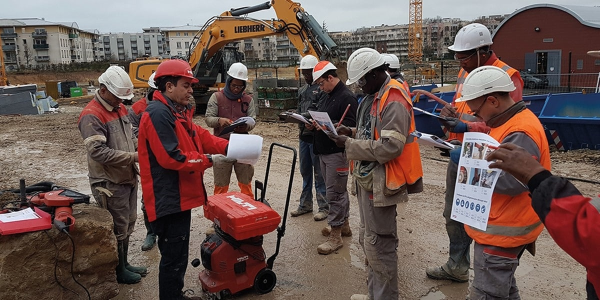 Hilti and Eiffage IDF1 partnership