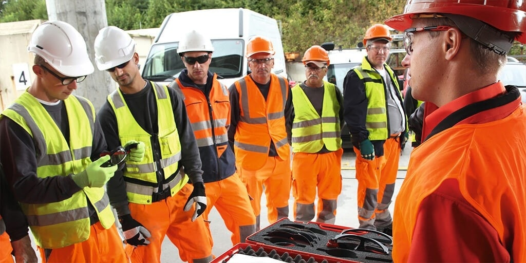 Hilti first health and safety training course