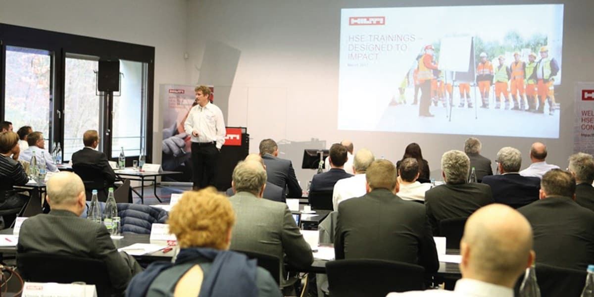 Impressions from our most recent HSE Manager Conference