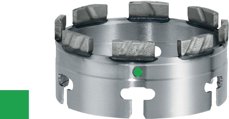 SPX-L abrasive Ultimate X-Change module for coring with low-power tools (<2.5 kW) in very abrasive concrete