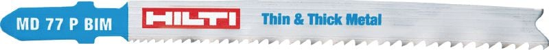 Thin & thick metal cutting Premium jig saw blade for long life and fast cutting in thin to thick metal