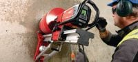SPX-H abrasive Ultimate X-Change module for coring with high-power tools (>2.5 kW) in very abrasive concrete Applications 5